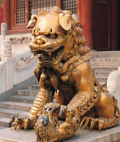 lion The Symbolism of Animals and creatures in Chinese Mythology
