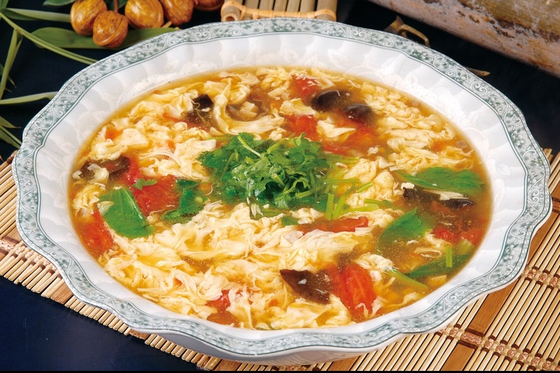 Egg Drop Soup-Traditional Chinese Style